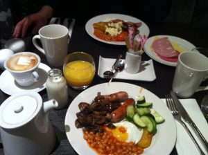 Carlton hilton breakfast