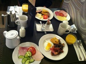 Hilton Carlton Breakfast