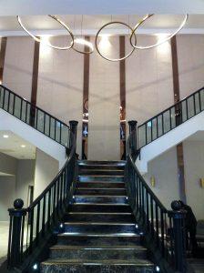 Hilton Edinburgh Lobby