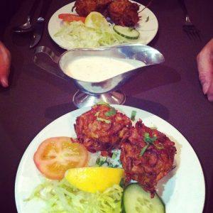Onion Bharjee Shah Jehan Restaurant