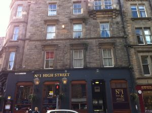 No 1 High Street Edinburgh
