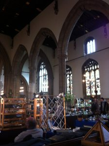 Antiques Fair in St Paul's Bedford