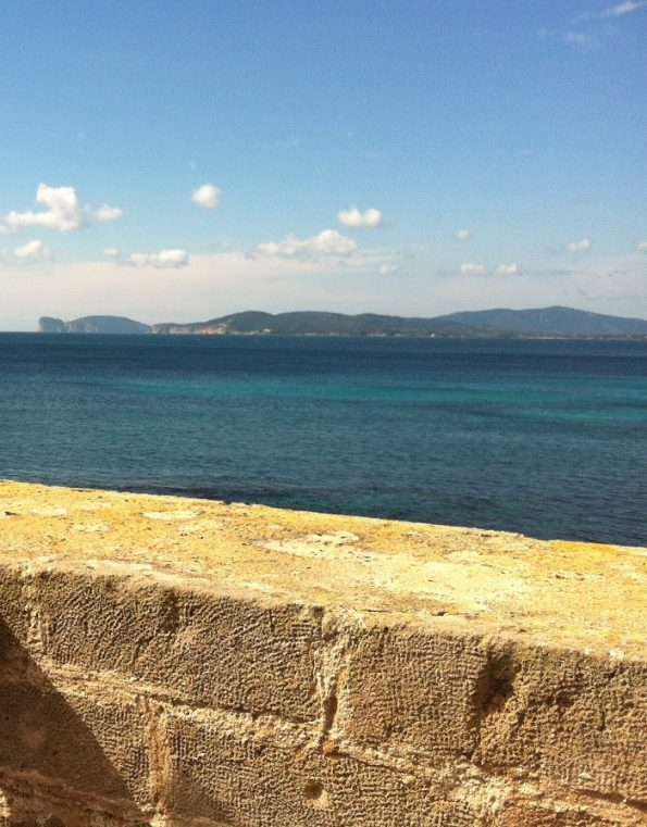Alghero by the Mediterranean sea