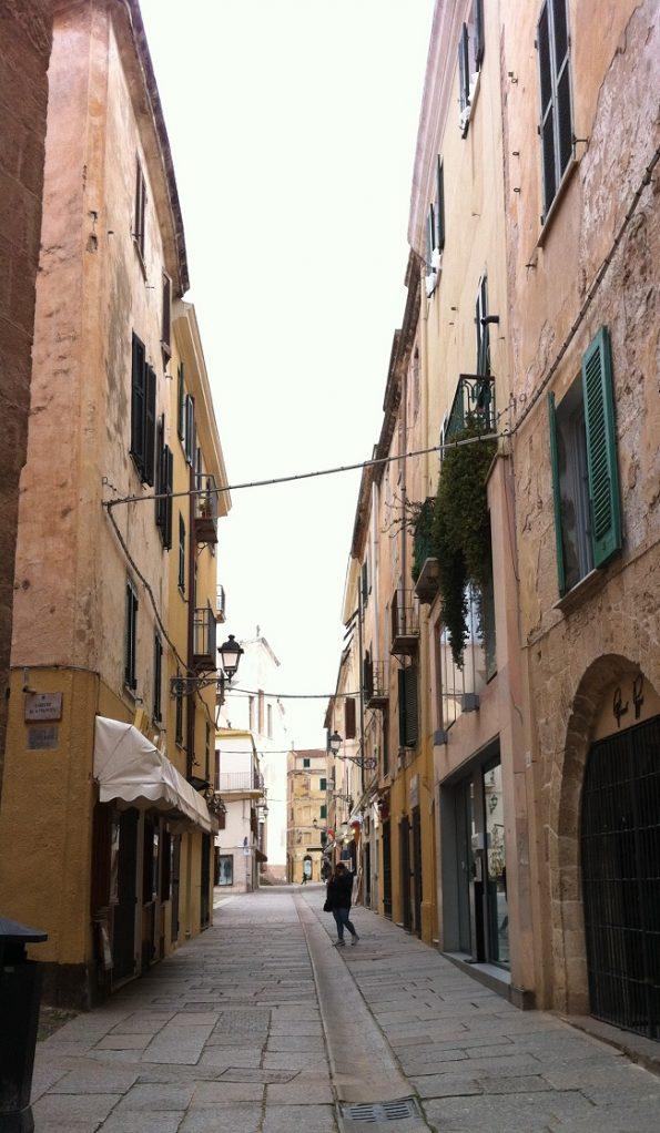 Street in Alghero