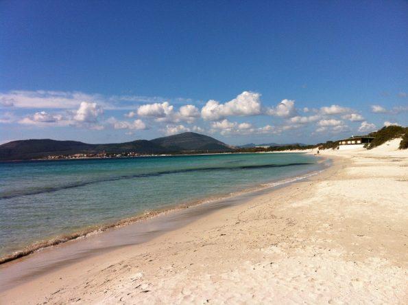 Maria Pia beach Alghero