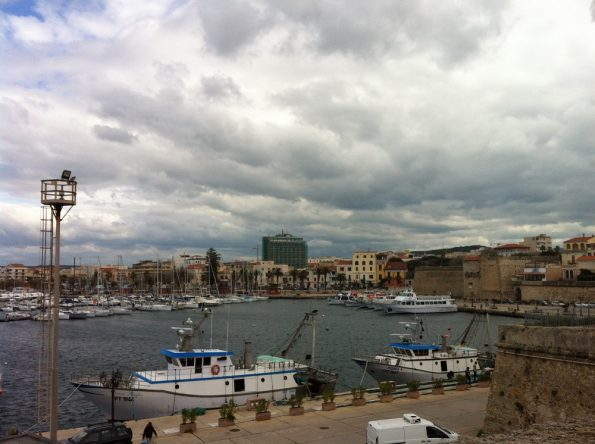 Alghero in winter