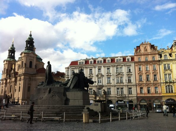 Another square in Prague