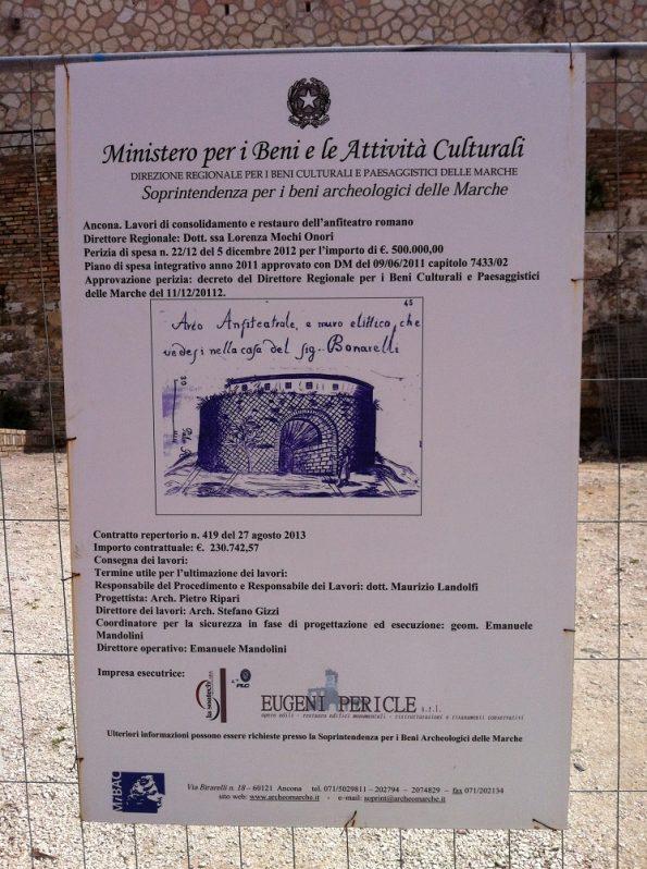 Roman Ampitheatre in Ancona