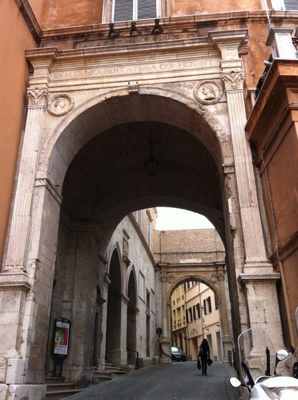 Street in Ancona