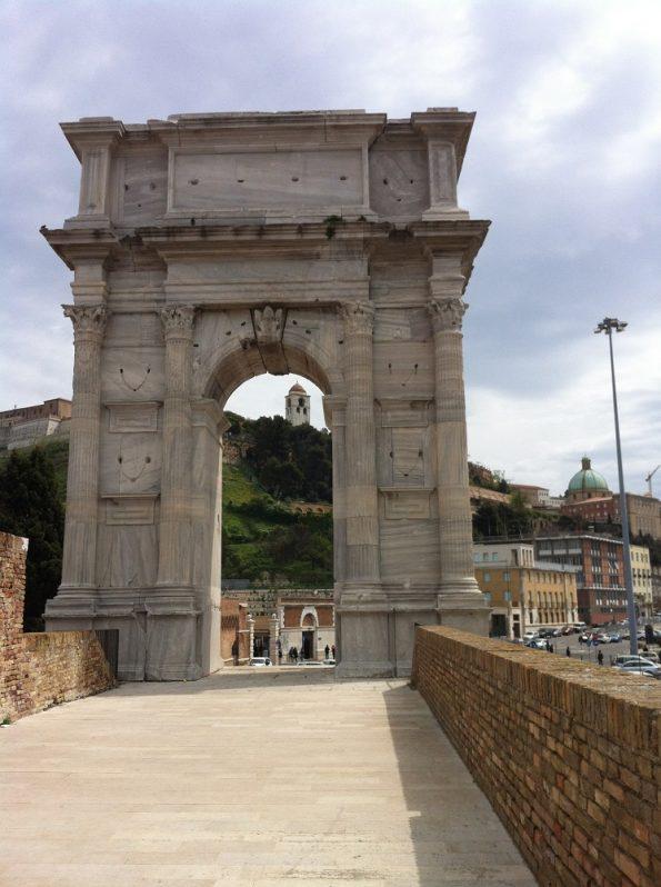 Trajan Arch in Ancona