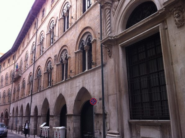 Typical Italian Building