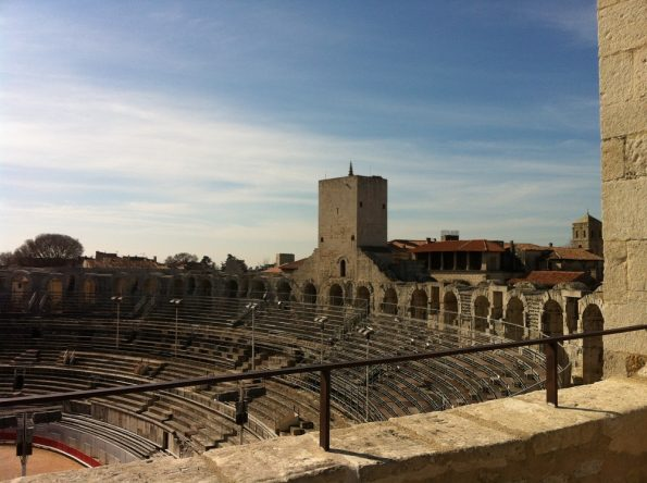 Architecture of Arles amphitheatre