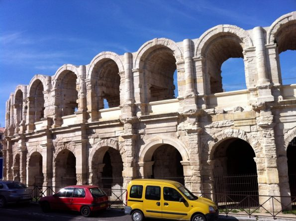 Impressive Arles amphitheatre