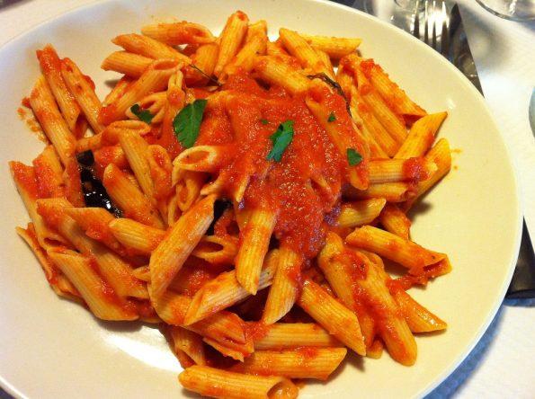 Italian food in France