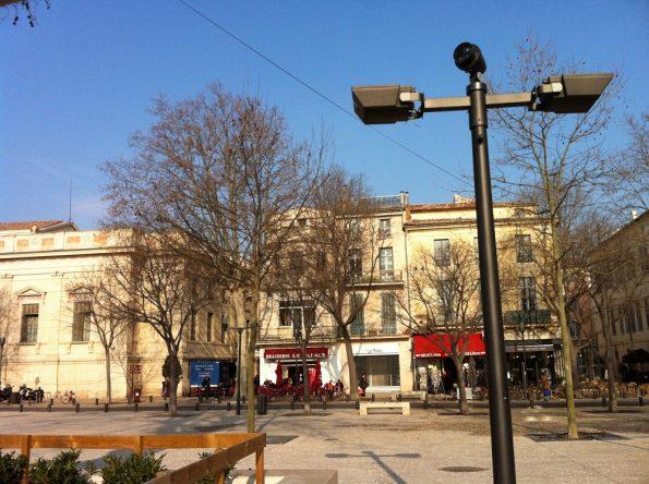 Nimes city centre