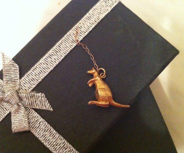 The Edwardian kangaroo pendant