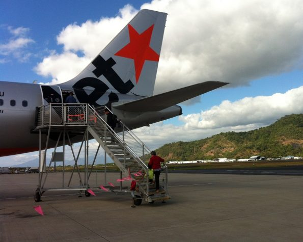 Jetstar from Cairns to Sydney