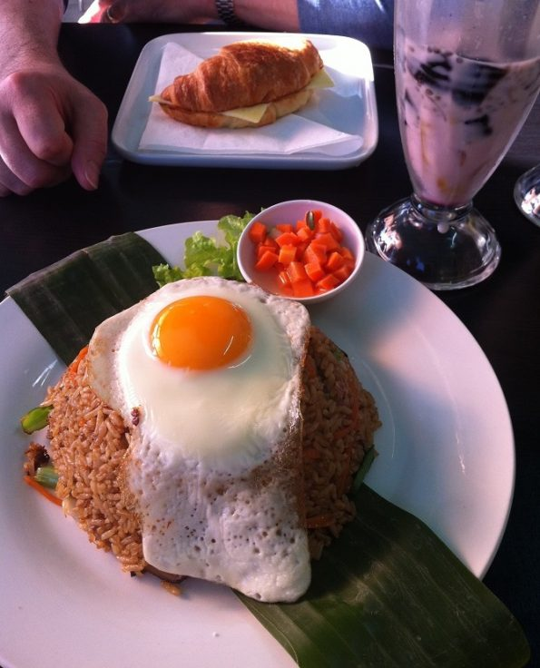 Nasi Goreng from Bagus Cafe