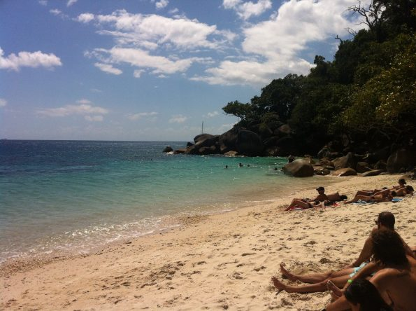 Nudey Beach at Fitzroy Island