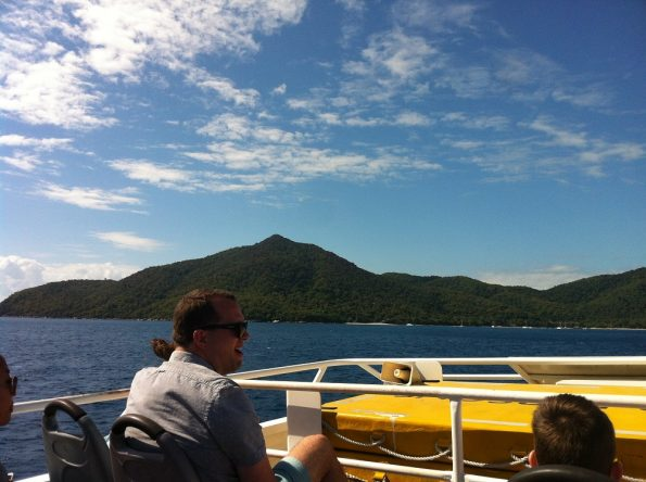 On the Ferry to Fitzroy Island