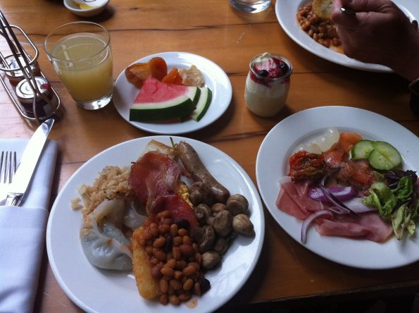 Our Sofitel breakfast