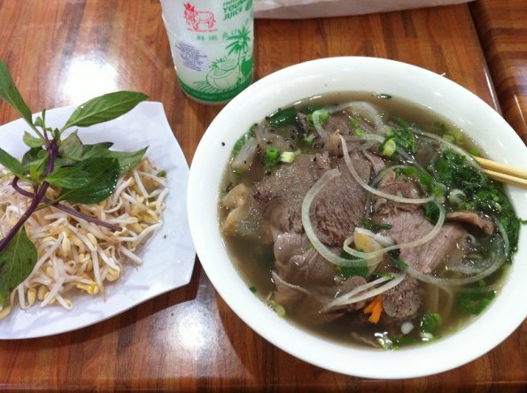 Vietnamese Pho at Orchid Plaza