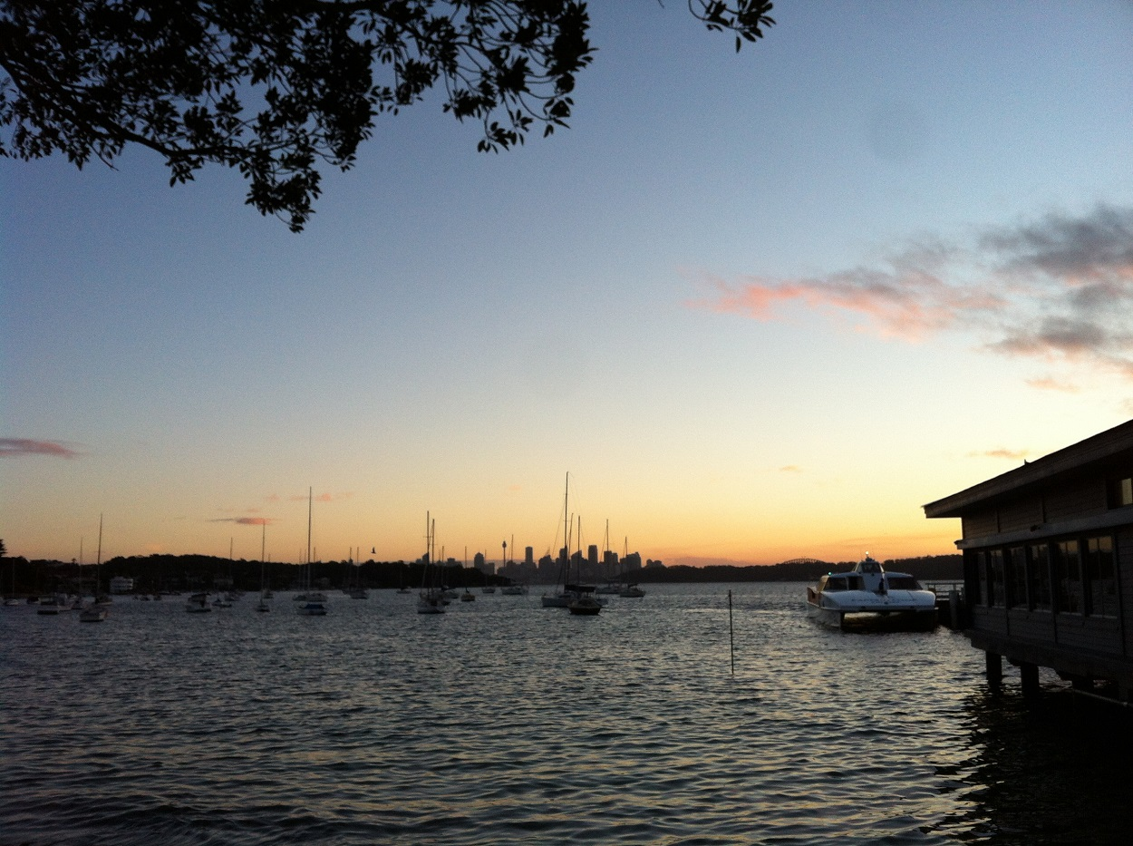 Dusk at Watsons Bay