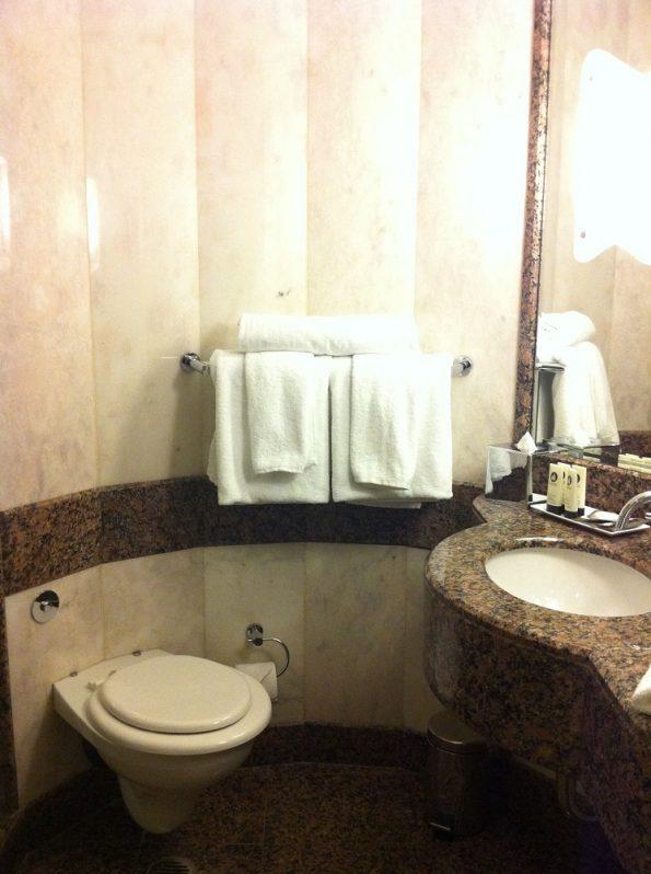 Sofitel Sydney Wentworth shower room