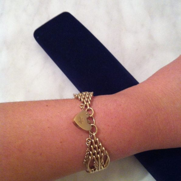 Sheffield Hallmark Gold Bracelet