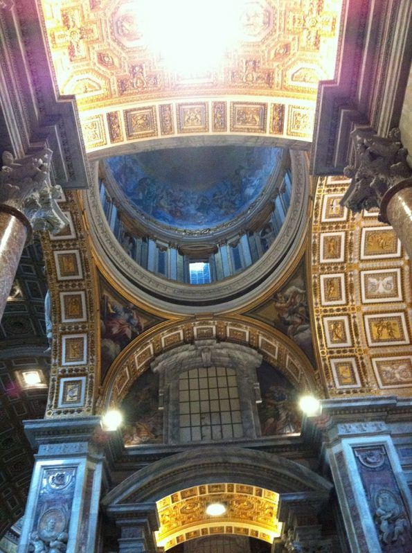 Ceiling of Basilica St Peter