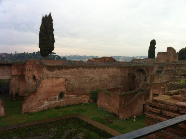 Imperial Palace at Palatine Hill
