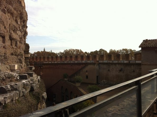 Castel Sant'Angelo fortification walls