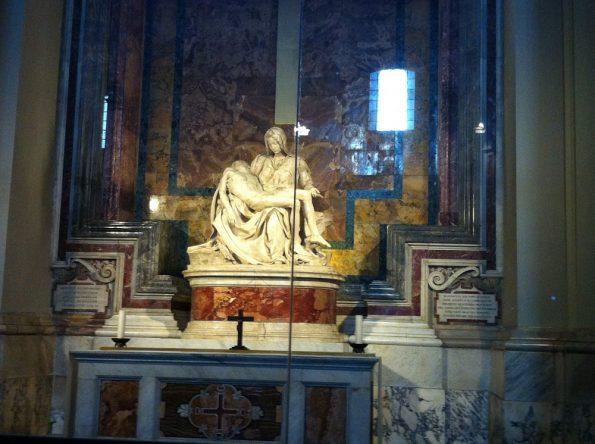 Pieta in St Peter's Basilica