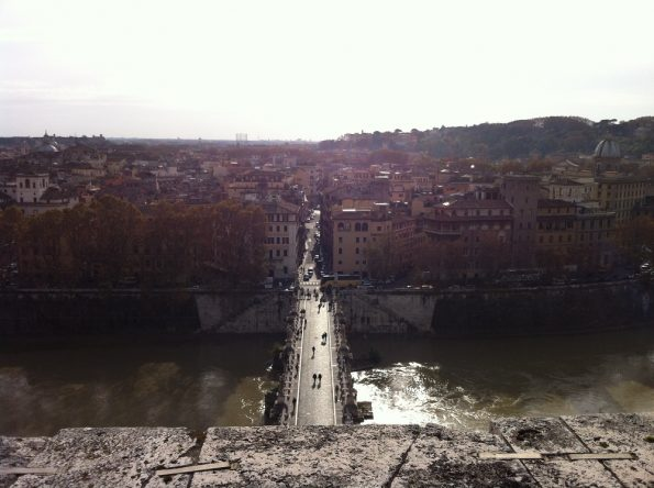 Ponte Sant'Angelo from the Castel