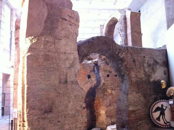 Roman ruins near Piazza Navona