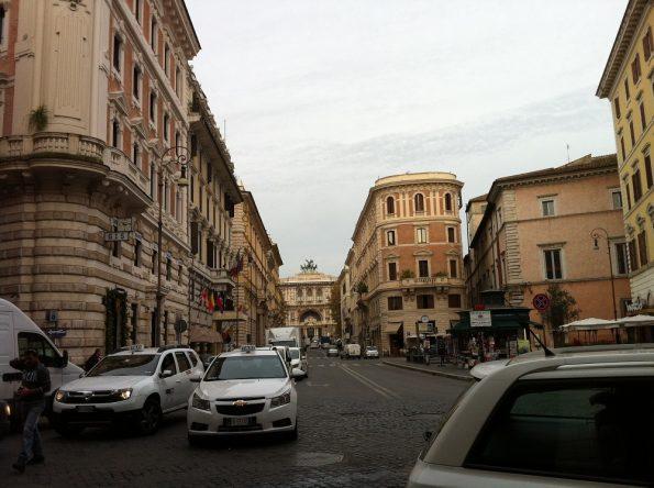 Street near Piazza Navona