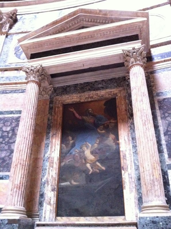 The Assumption of Our Lady at the Pantheon