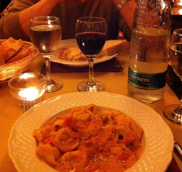 Yummy Pasta and S Bernardo