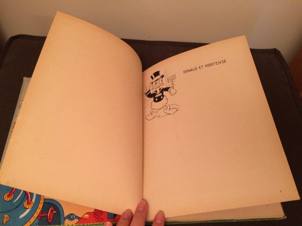 Donald Duck et Hortense antique book