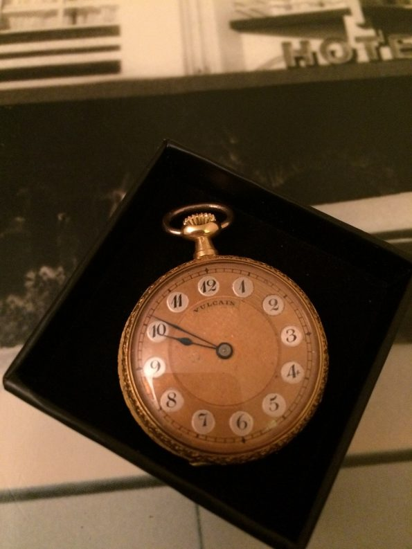 Vulcain Ladies 18k pocket watch
