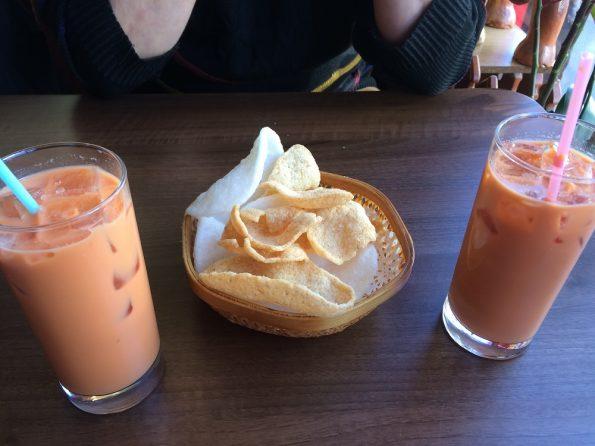 Yummy Thai ice teas