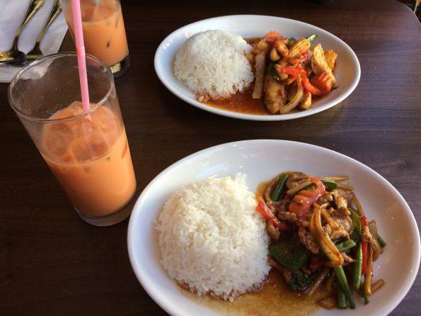 Thai Rack main course