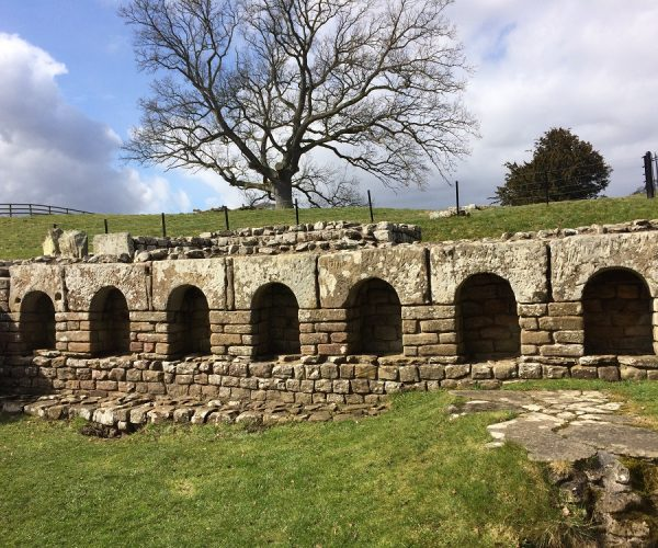 Chesters Roman Fort stunning bath