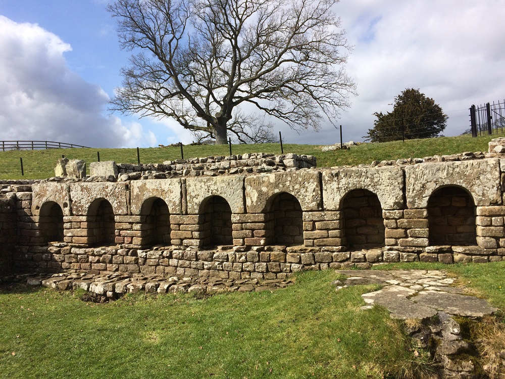 Chesters Roman Fort stunning bath