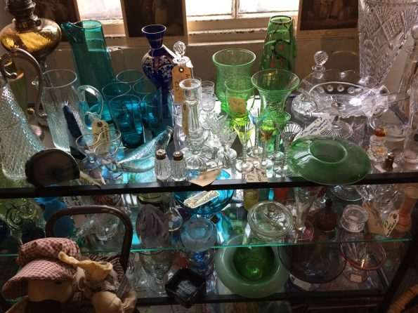 Glasses at Vintage Emporium in Hexham