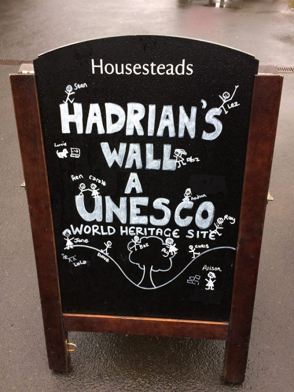 Hadrian's wall UNESCO world heritage