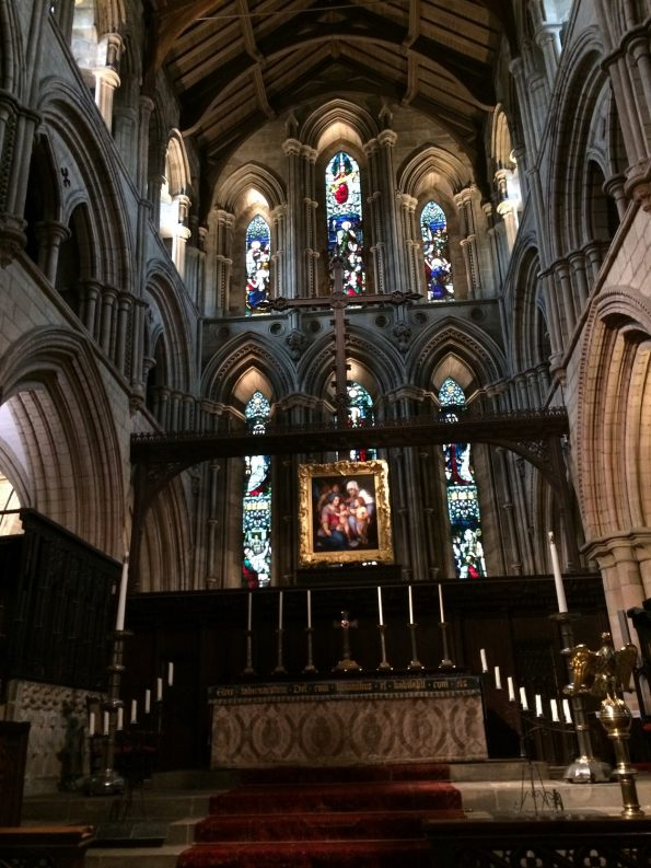 Hexham Abbey main altar