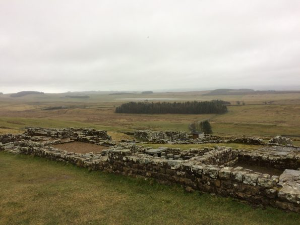 Housesteads looking from the top
