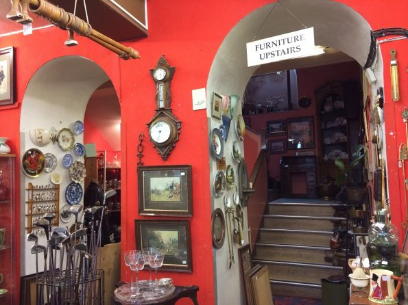 Inside the Ashbourne House antiques