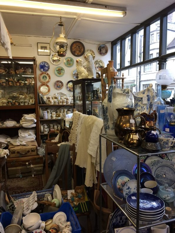 Porcelains at Ashbourne House antiques